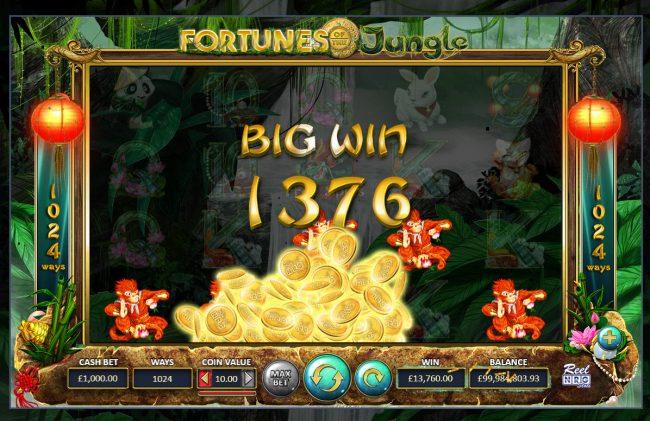 Fortunes of the Jungle :: Big Win