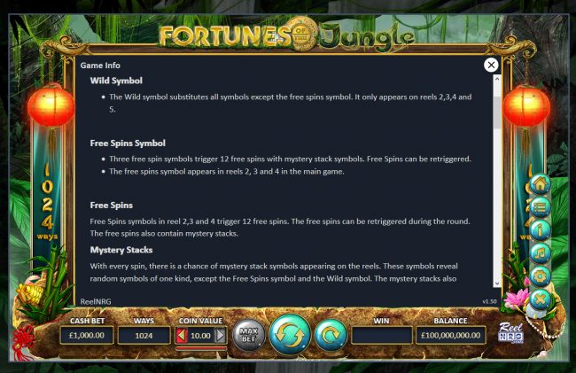 Fortunes of the Jungle :: General Game Rules