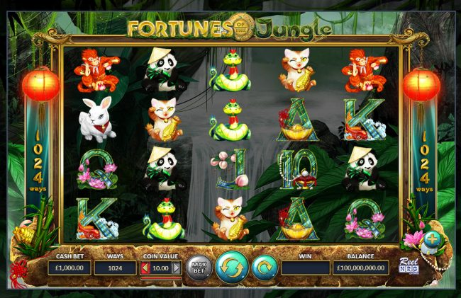 Fortunes of the Jungle :: Main Game Board