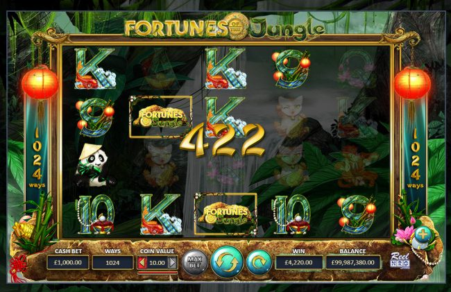 Fortunes of the Jungle :: Multiple winning combinations