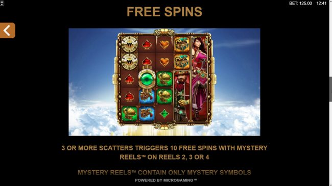 Fortunium :: Free Spins Rules