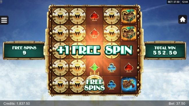Fortunium :: An additional free spin awarded