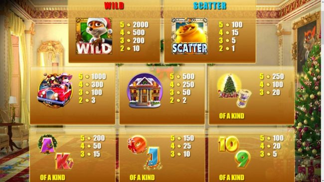 HippoZino featuring the Video Slots Foxin' Wins Christmas with a maximum payout of $50,000