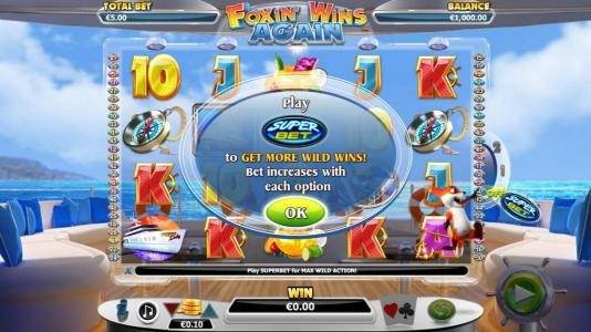 Play slots at Euro King: Euro King featuring the Video Slots Foxin' Wins Again with a maximum payout of $4,000