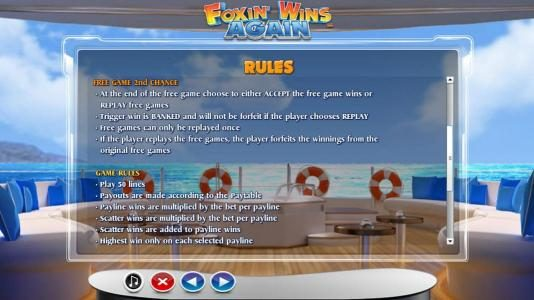 Play slots at Casino Superlines: Casino Superlines featuring the Video Slots Foxin' Wins Again with a maximum payout of $4,000