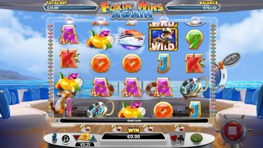 ReelTastic featuring the Video Slots Foxin' Wins Again with a maximum payout of $4,000