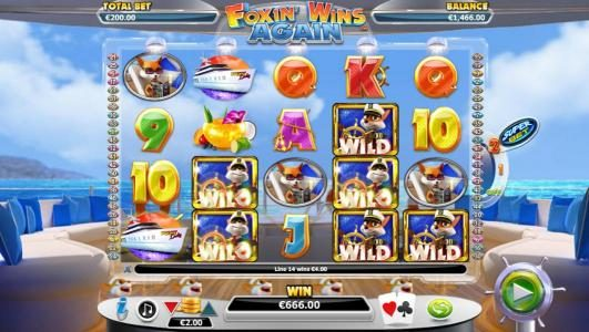 Simba Games featuring the Video Slots Foxin' Wins Again with a maximum payout of $4,000