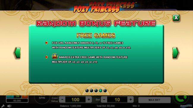 Random Bonus Feature