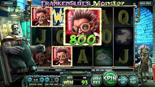 Play slots at Box24: Box24 featuring the Video Slots Frankenslot's Monster with a maximum payout of $5,000