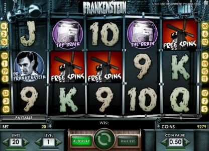 Play slots at All Irish: All Irish featuring the Video Slots Frankenstein with a maximum payout of $37,500