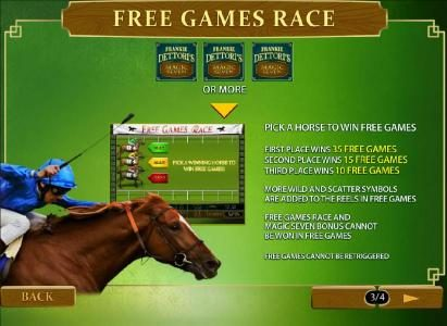 Frankie Dettori's Magic Seven :: Free games race