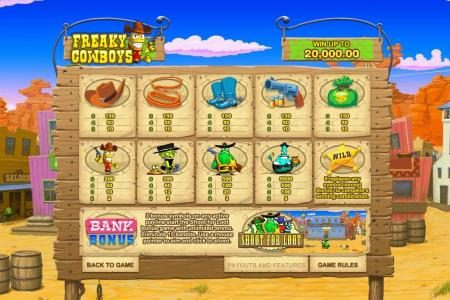 Freaky Cowboys :: safe crackers bonus feature