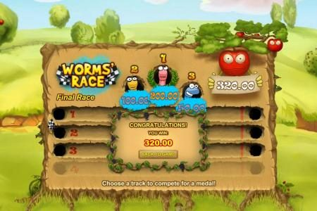 Freaky Fruits :: bonus feature pays out a $320 jackpot
