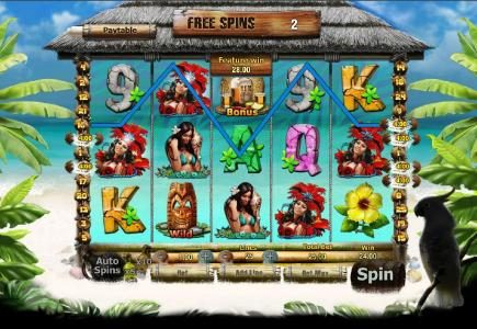 Freaky Fruits :: a $132 big win triggered by multiple winning paylines