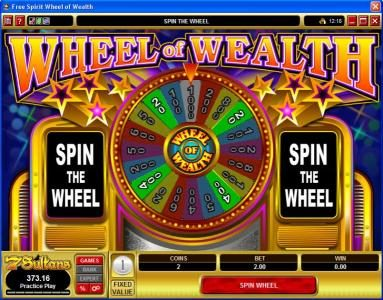 Casino Cruise featuring the Video Slots Free Spirit  Wheel of Wealth with a maximum payout of $10,000