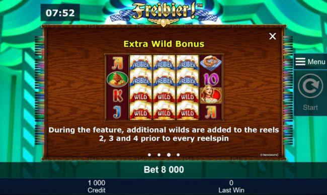 Extra Wild Bonus Rules