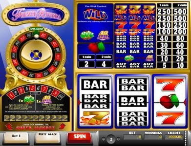 Leo Vegas featuring the Video Slots French Riviera with a maximum payout of Jackpot
