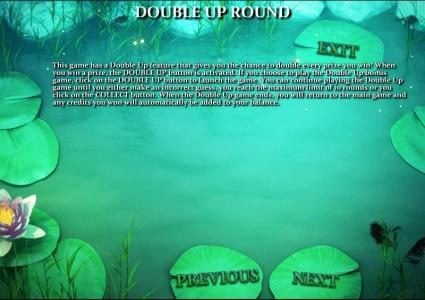 Frog Royale :: double up round rules