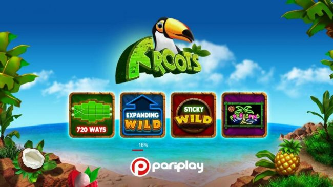 Froots :: Games features include: 720 Ways, Expanding Wild, Sticky Wild and Free Spins.