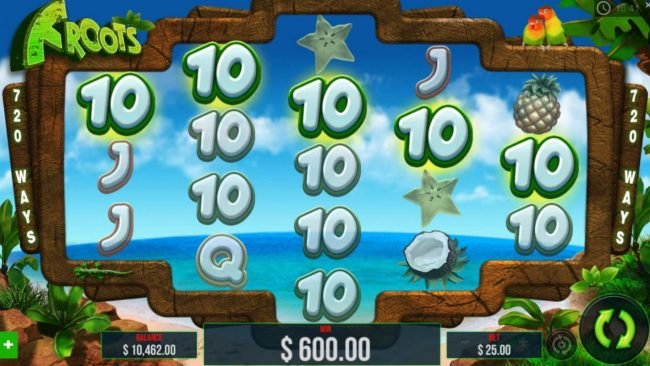 Wicked Jackpots featuring the Video Slots Froots with a maximum payout of $15,000