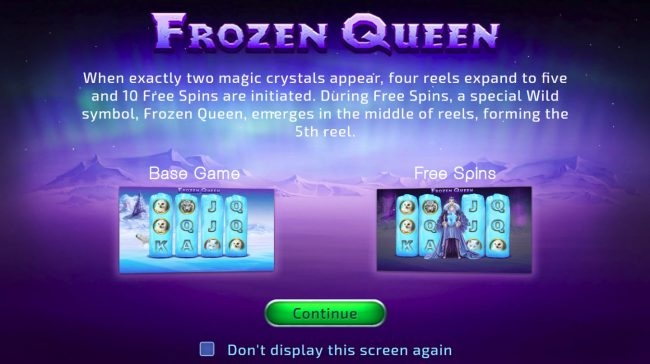 Play slots at Royale24: Royale24 featuring the Video Slots Frozen Queen with a maximum payout of $19,200