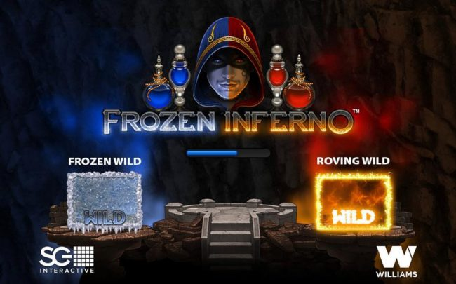 Jackpot Joy featuring the Video Slots Frozen Inferno with a maximum payout of $250,000