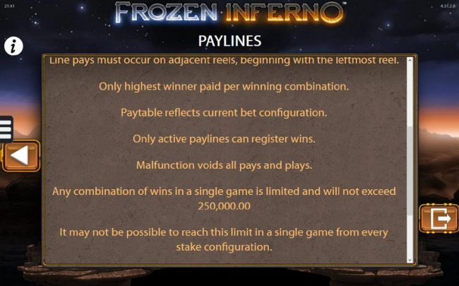 Frozen Inferno :: General Game Rules - continued