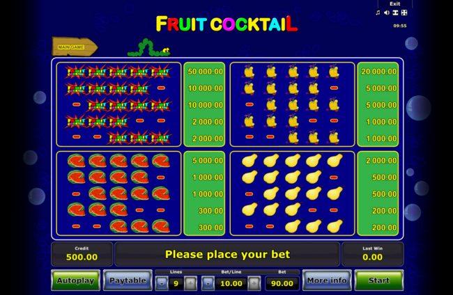 Fruit Cocktail :: High Value Symbols