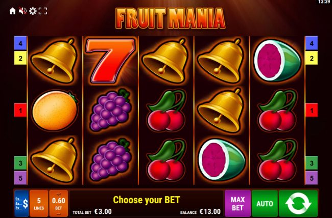 Fruit Mania :: Main Game Board