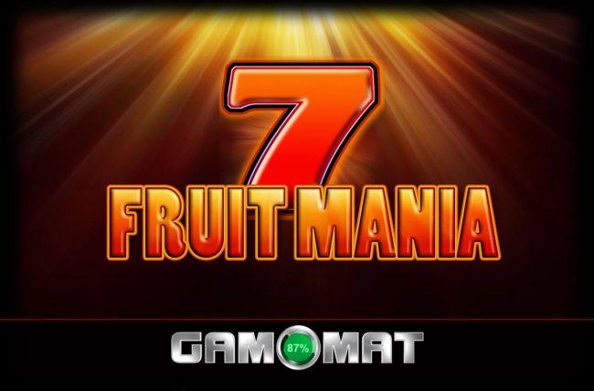 Fruit Mania :: Introduction