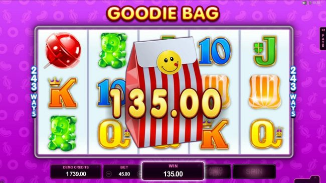 Grand Mondial featuring the Video Slots Fruit vs Candy with a maximum payout of $97,000