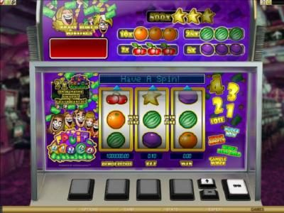 Yukon Gold featuring the Video Slots Fruit Bingo with a maximum payout of $5,000