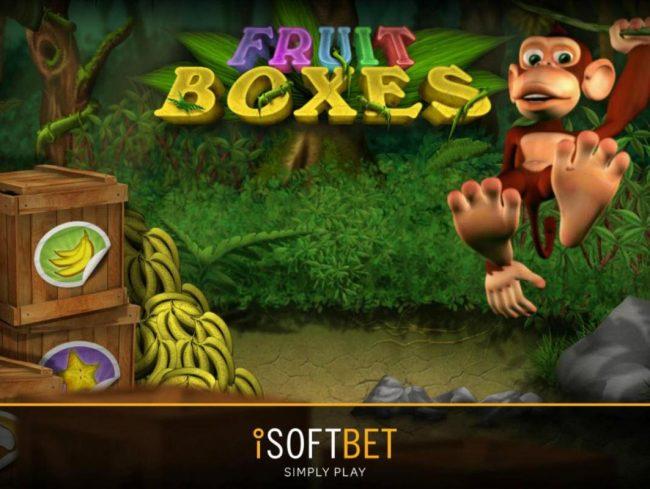 Fruit Boxes :: Splash screen - game loading
