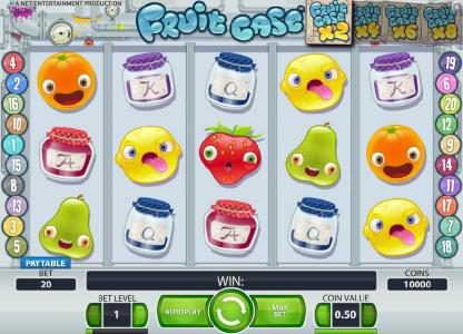 Play slots at Ocean Bets: Ocean Bets featuring the Video Slots Fruit Case with a maximum payout of $10,000