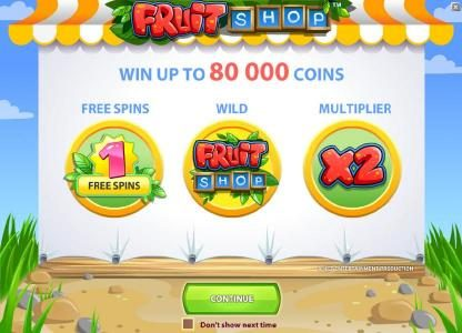 Play slots at Lord of the Spins: Lord of the Spins featuring the Video Slots Fruit Shop with a maximum payout of $40,000