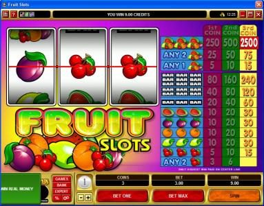 Captain Cooks featuring the Video Slots Fruit Slots with a maximum payout of $37,500