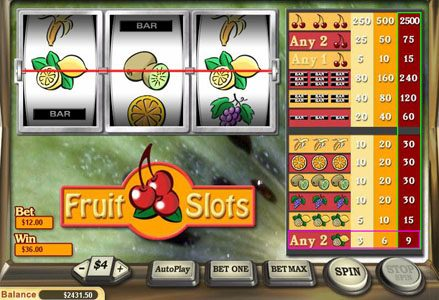 Liberty Slots featuring the Video Slots Fruit Slots with a maximum payout of $25,000