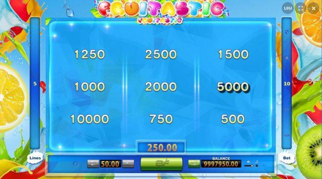 Pick a Diamond to reveal a cash prize.