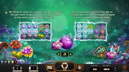 Play slots at Chanz: Chanz featuring the Video Slots Fruitoids with a maximum payout of $31,250