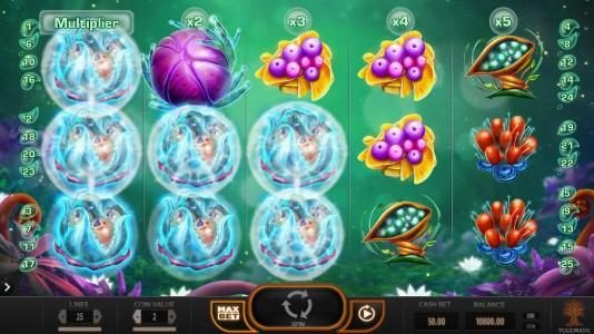 Play slots at Lucky Me Slots: Lucky Me Slots featuring the Video Slots Fruitoids with a maximum payout of $31,250
