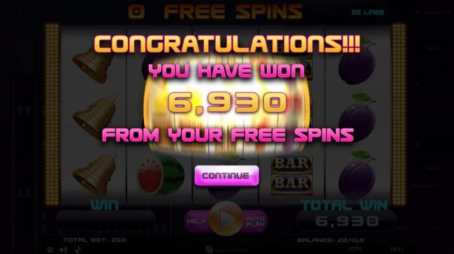 Play slots at Superior: Superior featuring the Video Slots Fruits Deluxe with a maximum payout of $15,000