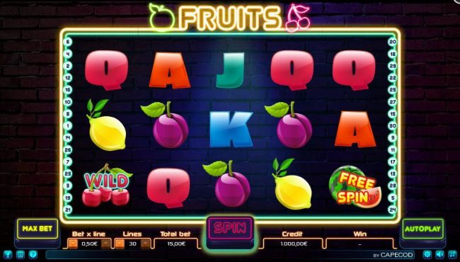 Fruits :: Main Game Board