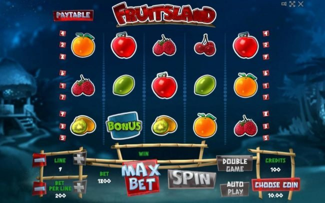 Play slots at Wild Tokyo: Wild Tokyo featuring the Video Slots Fruitsland with a maximum payout of $400,000