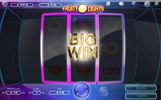 Fruity Lights :: Big Win