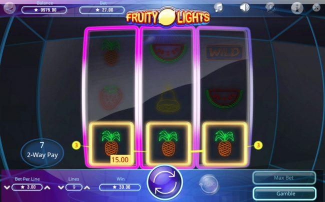 Fruity Lights :: Three of a Kind