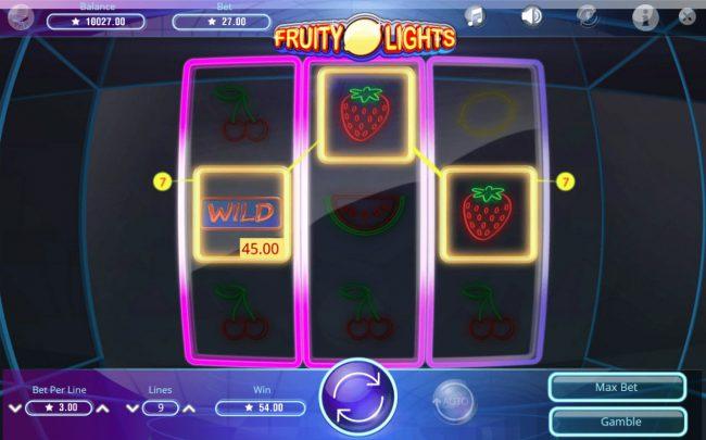 Fruity Lights :: A winning three of a kind