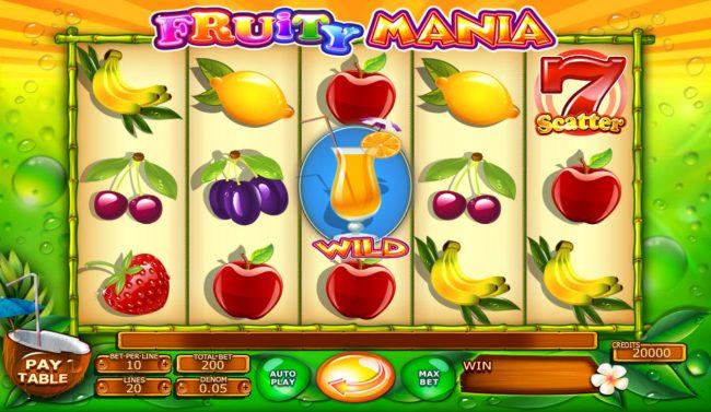 Fruity Mania :: Main Game Board
