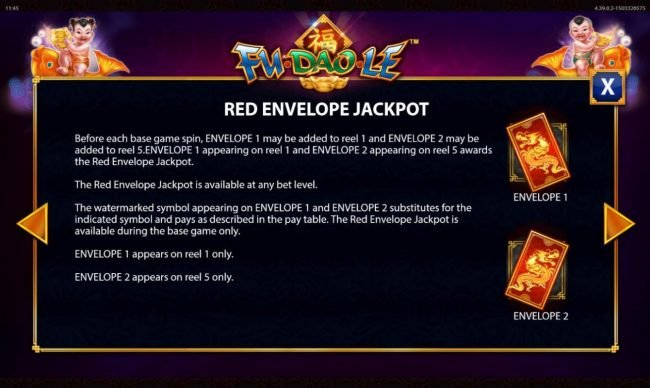 Fu Dao Le :: Red Envelope Jackpot Rules