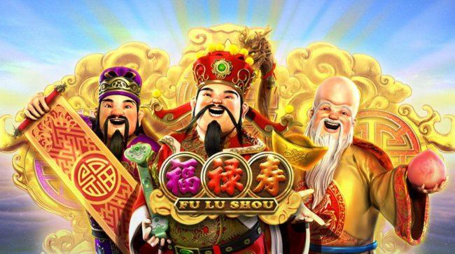 Fu Lu Shou :: Splash screen - game loading - Chinese Star Gods