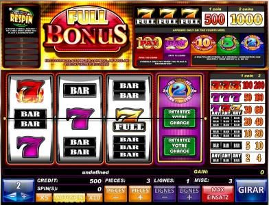 Play slots at Malibu Club: Maulibu Club featuring the Video Slots Full Bonus with a maximum payout of $6,000